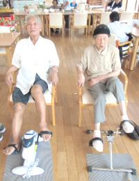 飯塚市のデイサービスで機能訓練とレクリエーション